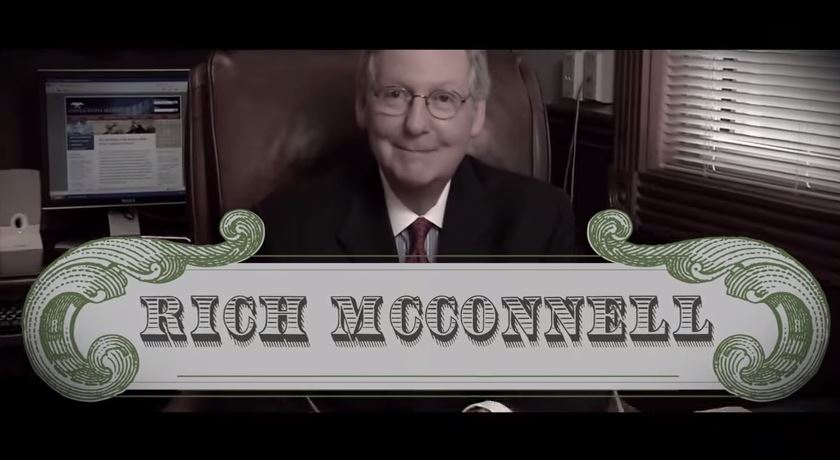 mcconnell campaign messaging
