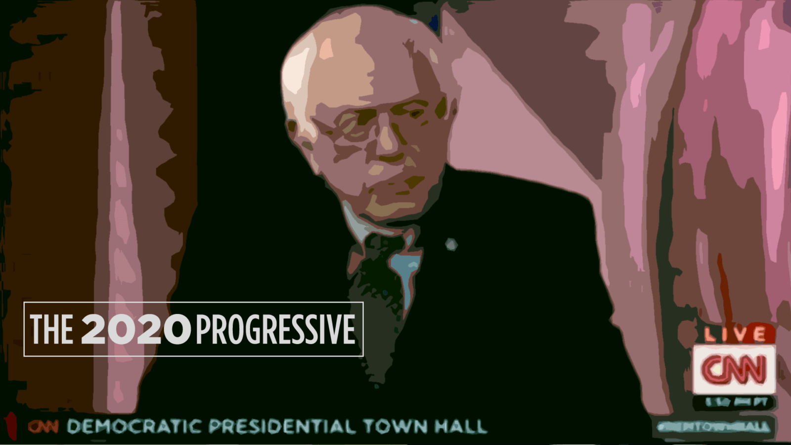 liberal and progressive bernie