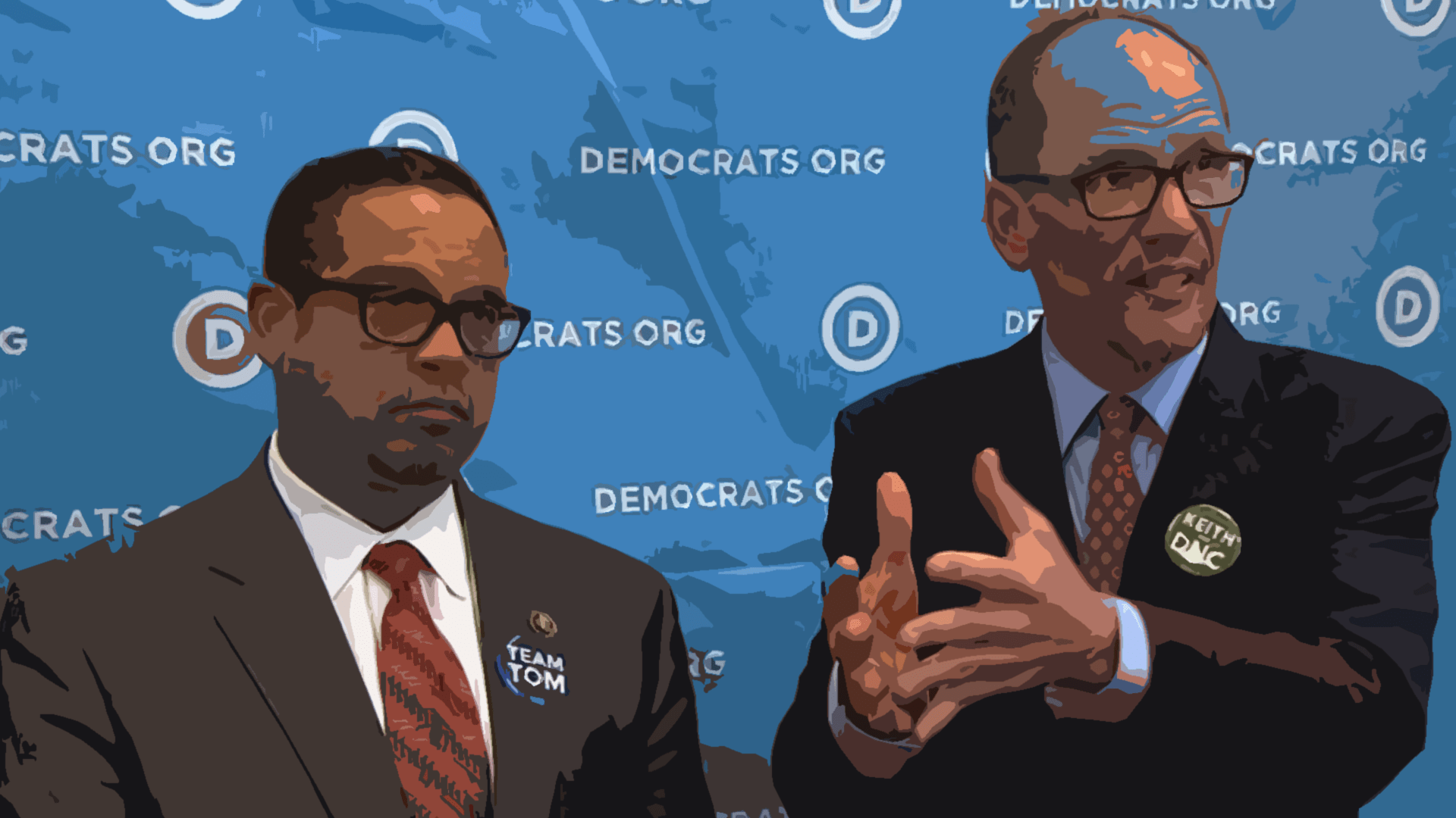 keith ellison tom perez dnc