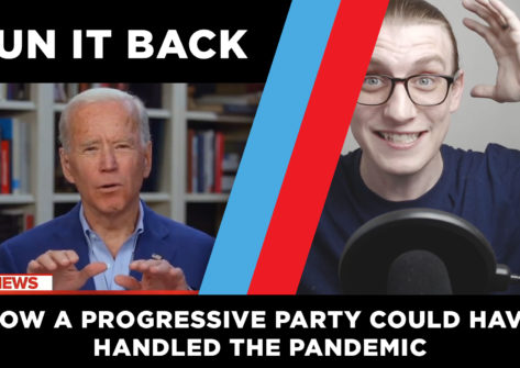 Ryan black of Run it back and Joe Biden